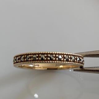 ココシュニック(COCOSHNIK)のココシュニック 10K マーカサイト フルエタニティリング 10号(リング(指輪))
