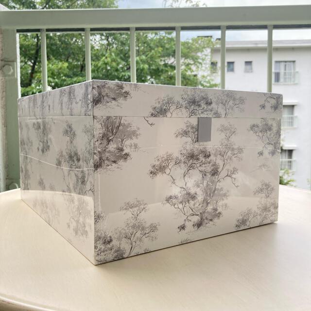LAURA ASHLEY(ローラアシュレイ)のELMLEY ストレージボックス3個セット 入れ子式 ローラアシュレイ インテリア/住まい/日用品の収納家具(ケース/ボックス)の商品写真