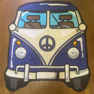 フォルクスワーゲン(Volkswagen)の*新品*vorkswargen フォルクスワーゲン ダイナカット バスタオル(車内アクセサリ)