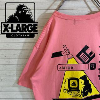 エクストララージ(XLARGE)の【X-LARGE】エクストララージ 希少デザイン バックデカロゴ Tシャツ(Tシャツ/カットソー(半袖/袖なし))