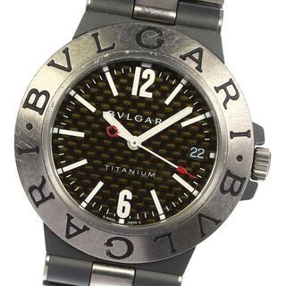 ブルガリ(BVLGARI)のブルガリ ディアゴノ チタニウム TI38TA メンズ 【中古】(腕時計(アナログ))