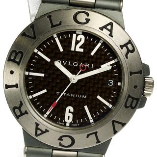 ブルガリ(BVLGARI)のブルガリ ディアゴノ チタニウム  TI38TA 自動巻き メンズ 【中古】(腕時計(アナログ))