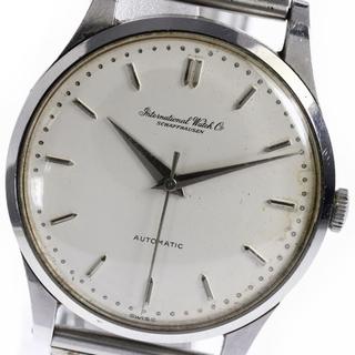 インターナショナルウォッチカンパニー(IWC)のIWC  アンティーク Cal.853  自動巻き メンズ 【中古】(腕時計(アナログ))