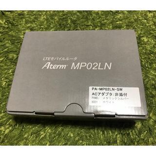 エヌイーシー(NEC)の【新品・未使用】NEC Aterm モバイルルーター PA-MP02LN-SW(PC周辺機器)