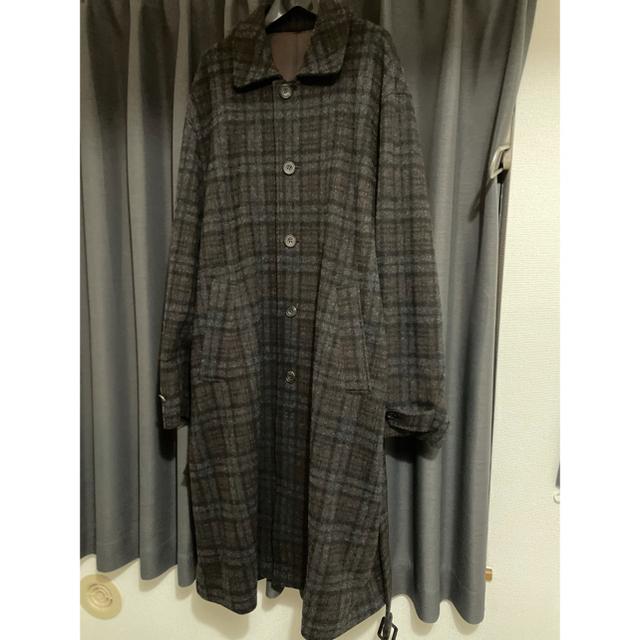 SUNSEA(サンシー)のstein OVER SLEEVE INVESTIGATED COAT メンズのジャケット/アウター(ステンカラーコート)の商品写真