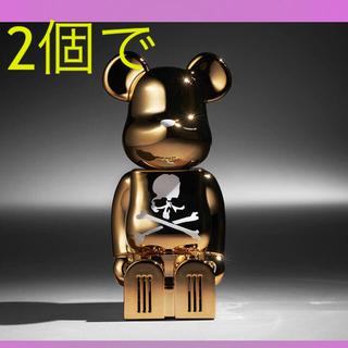 マスターマインドジャパン(mastermind JAPAN)のcleverin BE@RBRICK mastermind 2個セット(その他)