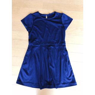 ユニクロ(UNIQLO)のワンピース ドレス 130 正装 ユニクロ UNIQLO シンプル(ワンピース)
