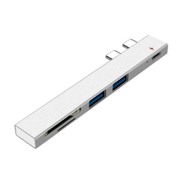 【新品】Macbook専用 Type-Cハブ 5in1/PD/軽量/多機能 スマホ/家電/カメラのPC/タブレット(その他)の商品写真