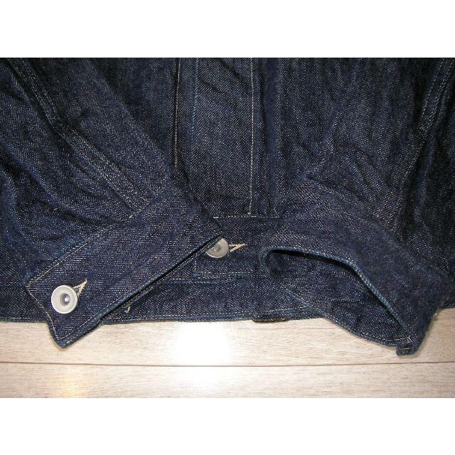 COMOLI(コモリ)のCOMOLI デニムジャケット NAVY T01-01003 コモリ Gジャン メンズのジャケット/アウター(Gジャン/デニムジャケット)の商品写真
