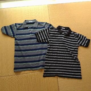 ジーユー(GU)の子供服ポロシャツSサイズセット 美品(ポロシャツ)