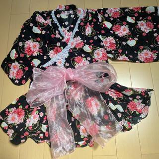 サンリオ(サンリオ)の[値下げ!!]キティちゃん セパレート 浴衣ドレス 120cm(甚平/浴衣)