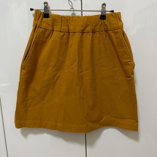 ビューティアンドユースユナイテッドアローズ(BEAUTY&YOUTH UNITED ARROWS)のBEAUTY&YOUTH UNITED ARROWS スカート 黄色(ミニスカート)
