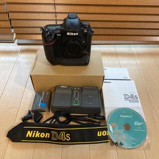 Nikon - 良品 ニコン D4s シャッター数約89,000回 フラッグシップ一眼レフ