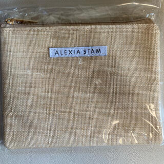 ALEXIA STAM - アリシアスタン ポーチ 新品未使用