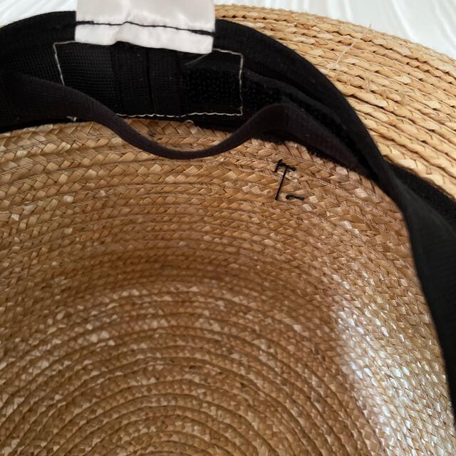 田中帽子店 カンカン帽 レディースの帽子(麦わら帽子/ストローハット)の商品写真