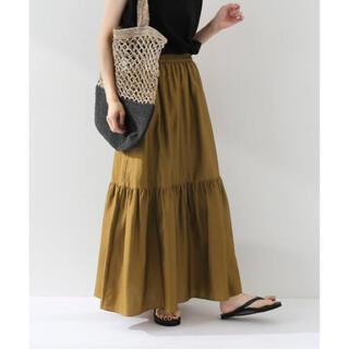フレームワーク(FRAMeWORK)のFRAMeWORK 裾ティアードスカート(ロングスカート)