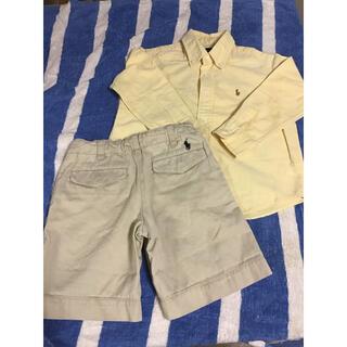 Ralph Lauren - ラルフローレン☆100-110センチ☆シャツパンツセット