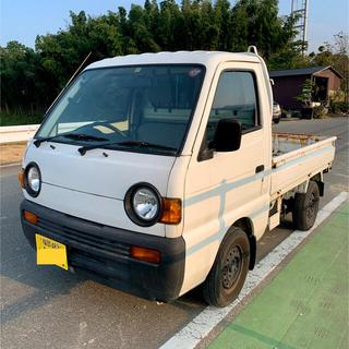スズキ - 福岡市 車検付き スズキ キャリィトラック 軽トラック DC51T  希少丸目