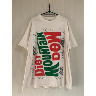90s DIET MOUNTAIN DEW マウンテンデュー Tシャツ 企業T(Tシャツ/カットソー(半袖/袖なし))