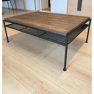 【直接受渡し】KeLT -ケルト- リビングテーブル 約90cm幅(ローテーブル)