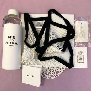シャネル(CHANEL)のシャネル ファクトリー5 ローボトル ノベルティ メッシュバッグ 香水サンプル付(タンブラー)