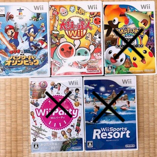 任天堂 - Wii カセット ソフト バンクーバーオリンピック 太鼓の達人 pokepark