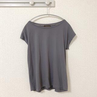 TOMORROWLAND - トゥモローランド Tシャツ カットソー トップス チャコールグレー ノースリーブ