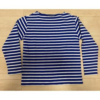 SAINT JAMES - セントジェームス ボーダーカットソー Tシャツ 長袖 xxs T0 青×白