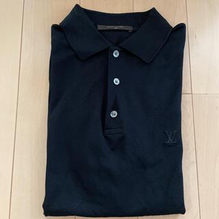 LOUIS VUITTON - メンズ ルイヴィトン ポロシャツ ブラック