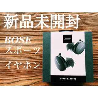 ボーズ(BOSE)の【新品未開封】BOSE SPORT EARBUDS(ヘッドフォン/イヤフォン)