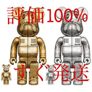 MEDICOM TOY - SORAYAMA × A BATHING APE 100% 400% 2種セット