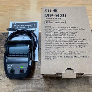SEIKO - 【美品】セイコー MP-B20 モバイルレシートプリンター