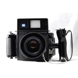 マミヤ(USTMamiya)のマミヤ SUPER 23 100㎜ F3.5 中判カメラ 【完動品・付属品多数】(フィルムカメラ)