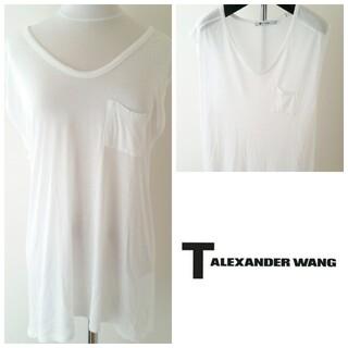 Alexander Wang - T by Alexander Wang/ノースリーブポケットTシャツ