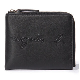 agnes b. - 新品未使用 agnes b. コインケース/札入れ 黒