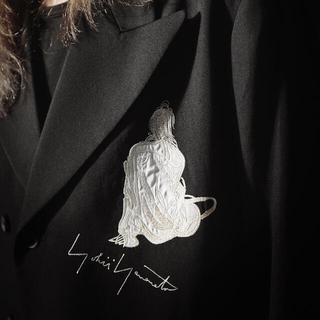 Yohji Yamamoto - Yohji Yamamoto 02ss 女優刺繍 サイズ3