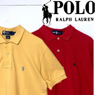 Ralph Lauren - 美品!2点セット!Ralph Lauren ポニーマーク刺繍 鹿の子ポロシャツ
