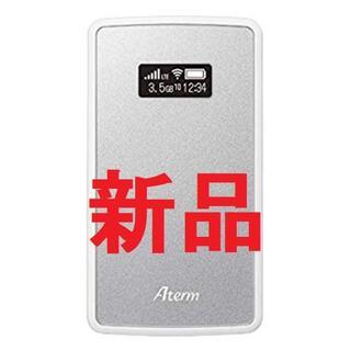 エヌイーシー(NEC)のAterm PA-MP02LN-SW SIMフリー モバイルWiFiルーター(PC周辺機器)