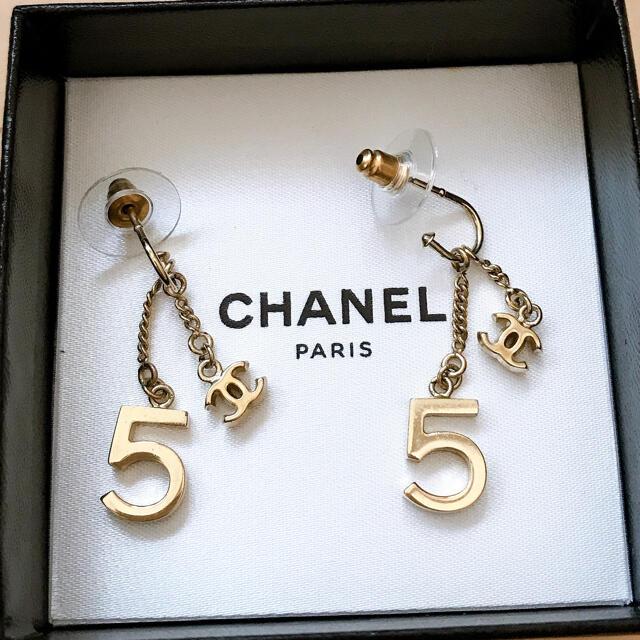 CHANEL(シャネル)のシャネル CHANEL 5 ピアス レディースのアクセサリー(ピアス)の商品写真