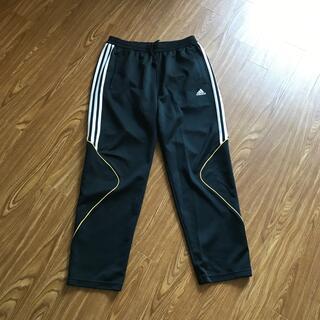adidas - adidas ジャージ 黒 ブラック アディダス パンツ