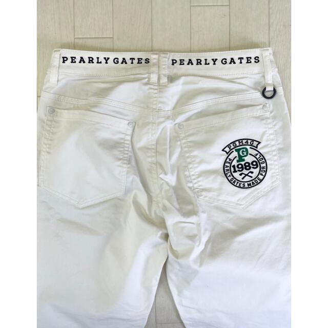 PEARLY GATES(パーリーゲイツ)のパーリーゲイツレディース ゴルフパンツ   スポーツ/アウトドアのゴルフ(ウエア)の商品写真