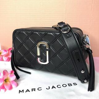 MARC JACOBS - 新品 MARC JACOBS  スナップショット ショルダーバッグ ブラック