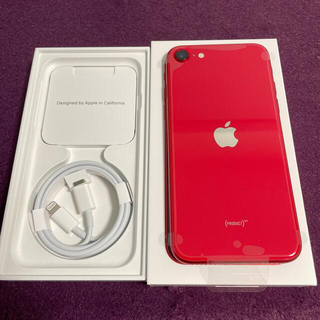 iPhone - アップル iPhoneSE 第2世代 64GB レッド docomo