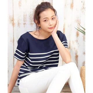 神戸レタス - 【新品】神戸レタスコットン100%半袖シンプルTシャツ ネイビー