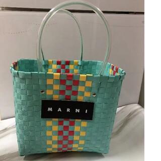 新品未使用 MARNI マルニ ピクニックバッグ(かごバッグ/ストローバッグ)