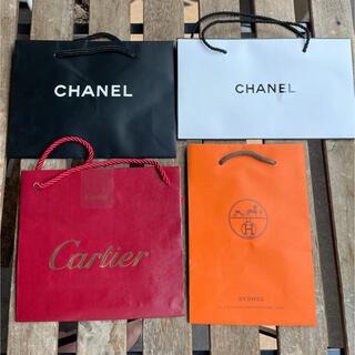 CHANEL - ショップ袋 紙袋4セット 小