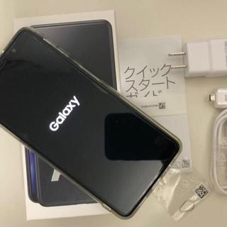 Galaxy - GalaxyA7 ブラック 64GB 楽天モバイル Android ギャラクシー