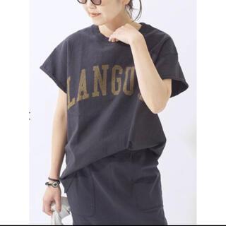 プラージュ(Plage)の28日まで限定価格★ Plage cut off logo Tシャツ(Tシャツ/カットソー(半袖/袖なし))