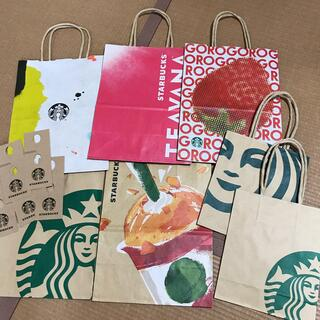 Starbucks Coffee - スターバックス ショップ袋 スタバ 25周年 ストロベリー ショッパー