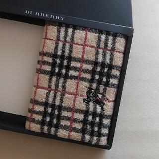BURBERRY - 新品未使用 BURBERRYフェイスタオル